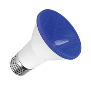 Lâmpada LED PAR 20 7w Bivolt Azul Stellatech